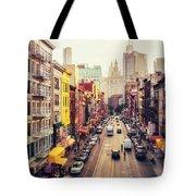 New York City - Chinatown Street Tote Bag