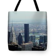 New York City Chrysler Building Tote Bag