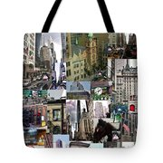 New York City Collage Tote Bag