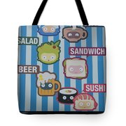 New York City Eatery Tote Bag