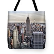 On Top Of The Rock Tote Bag