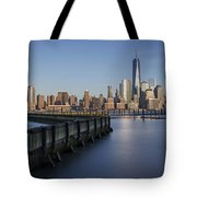 New York City Financial District Tote Bag