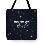 New York City Girl Tote Bag by Pati Photography