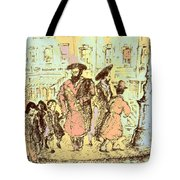 New York City Jews - Fine Art Tote Bag