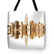 New York City Landmarks - Usa Tote Bag