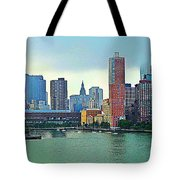 New York City Landscape Tote Bag