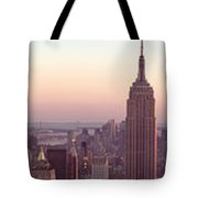 New York City - Manhattan Panorama Tote Bag