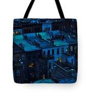 New York City Nightfall Tote Bag