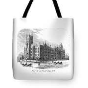 New York City Normal College - 1870 Tote Bag