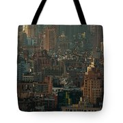 New York City Posterized Tote Bag