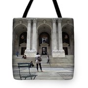 New York City Public Library Tote Bag