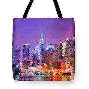 New York City - Skyline 0 Tote Bag