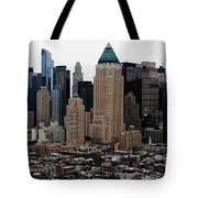 New York City Skyline 19 Tote Bag