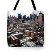 New York City Skyline 20 Tote Bag