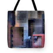 New York City Skyline No. 3 - City Blocks Series Tote Bag