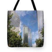 New York City Skyscrapers Tote Bag