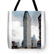 New York City - The Flatiron Building - Fifth Avenue - 1904 Tote Bag