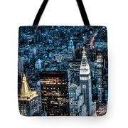 New York City Triptych Part 1 Tote Bag
