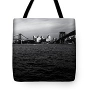 New York City - Two Bridges Tote Bag