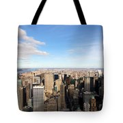 New York City View Tote Bag