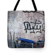 New York City Wall Tote Bag