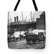 New York City Waterfront Tote Bag
