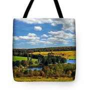 New York Countryside Tote Bag by Christina Rollo