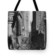New York Curb Market, 1918 Tote Bag
