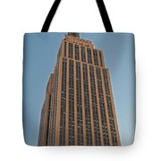 New York Empire State Building Tote Bag