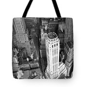 New York Financial District  Tote Bag