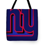 New York Giants Football Tote Bag