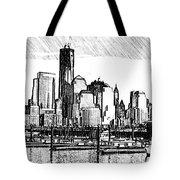 New York Harbor Tote Bag