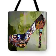 New York In A Shoe Tote Bag