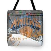 New York Knicks Tote Bag