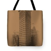 New York Landmarks 3 Tote Bag