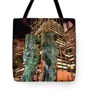 New York - Looking Toward The Avenue Tote Bag