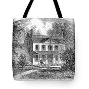 New York: Mansion, 1763 Tote Bag