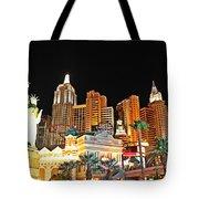 New York New York Hotel And Casino Tote Bag