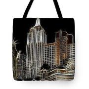 New York New York In Las Vegas Tote Bag