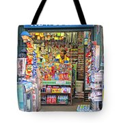 New York Newsstand Tote Bag