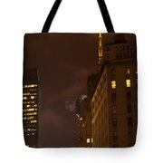 New York Night Tote Bag