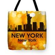 New York Ny 3 Tote Bag