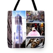 New York Nyc Collage Tote Bag