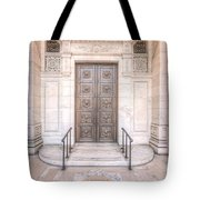 New York Public Library Entrance I Tote Bag