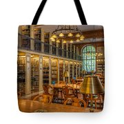 New York Public Library Genealogy Room I Tote Bag