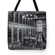 New York Public Library Genealogy Room II Tote Bag