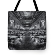 New York Public Library Main Reading Room Viii Tote Bag