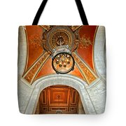 New York Public Library Ornate Ceiling Tote Bag