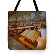 New York Public Library Rose Main Reading Room  Tote Bag