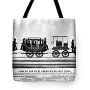 New York Railroad, 1832 Tote Bag